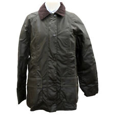 Barbour Womens Classic Beadnell Wax Jacket in Olive - UK Sizes 4, 12 & 18