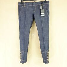 DSQUARED2 Dsquared Damen Jeans Hose S75KA0687 IT 40 42 Cropped Denim NP 489 NEU