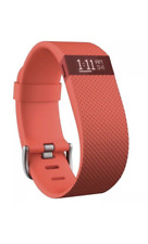 Fitbit Charge HR Activity Wristband Heart Rate Tangerine Large