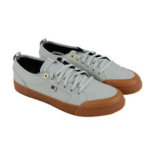 DC Evan Smith Tx Mens Gray Textile Sneakers Lace Up Skate Shoes