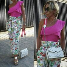 Zara Floral Print Culottes Size SMALL & LARGE BNWT
