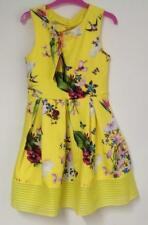 Baker by Ted Baker Girls Scuba Dress (Yellow Mix) - Age 10 or Age 11 ( BNWT)