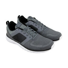 Reebok Pt Prime Run 2.0 Mens Gray Textile Athletic Lace Up Running Shoes