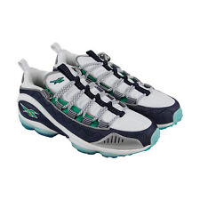 Reebok Dmx Run 10 Mens White Textile Athletic Lace Up Training Shoes