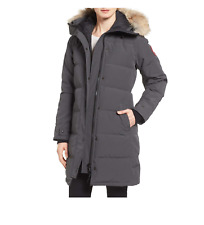 Canada Goose Shelburne Genuine Coyote Fur Trim Down Parka S - M