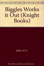 Biggles Works it Out (Knight Books) by Johns, W. E. Paperback Book The Fast Free