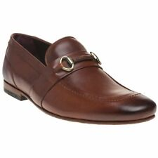 New Mens Ted Baker Tan Daiser Leather Shoes Loafers And Slip Ons On