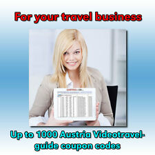 Coupon codes for Online Video Travel Guides of Austria for your guests+customers