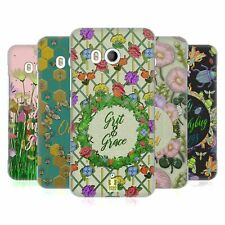 HEAD CASE DESIGNS PRINTED EMBROIDERED QUOTES HARD BACK CASE FOR HTC PHONES 1