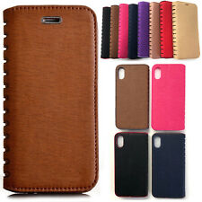 Magnetic Flip Synthetic Leather Premium Book Case For Various LG Mobile Phones