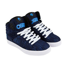 Osiris Clone Mens Blue Textile Sneakers Lace Up Skate Shoes