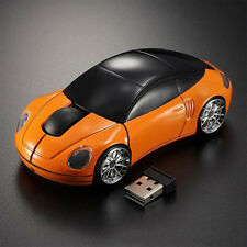 3D Wireless Optical 2.4Ghz Car Shaped USB Mouse Mice 1600DPI for PC Laptop New