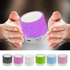 Vapeonly A9 Mini Wireless Bluetooth Speaker with LED Hands Free TF Card Slot Bas