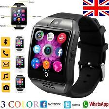 Q18 Smart Watch Bluetooth Camera SIM Slot For HTC Samsung iPhone iOS & Android