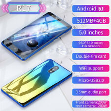5.72'' Handy Android 7.0 Quad-Core 512 MB + 4 GB GSM 3G WiFi Dual SIM Smartphone