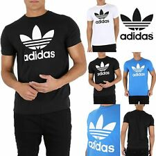 Mens Adidas Casual Branded Original Trefoil California Short Sleeve T-Shirt Top