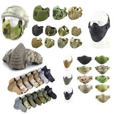 Outdoor Airsoft Shooting Face Protection Gear Half Face Tactical Airsoft Mask