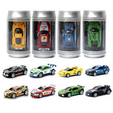 Soda Can Mini Radio Remote Control Micro Racing Car With Container Can & Blocks