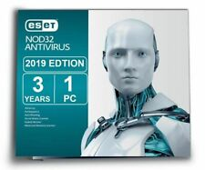 Eset NOD32 Antivirus -Version 12 - 2019 (3 Years for 1 PC) for Windows, Mac- ESD