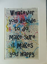 Inspirational Sign Wall Print No.392, inspirational quote, life quote