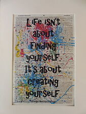 Inspirational Sign Wall Print No.395, inspirational quote, life quote