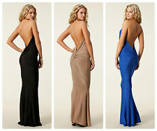 Honor Gold £85 Fishtail Long Gown Maxi Dress UK Size 6 8 10 (XS,S)