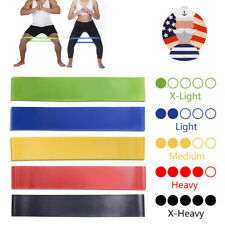Elastic Bands Resistance Fitness Yoga Exercise Band Workout Loop Training