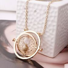 Time Potter Converter Hourglass Necklace Harry Pendant Deathly Hallows Turner