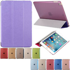 Luxury Magnetic Smart PU Leather Stand Flip Case Cover For All Apple iPad Models