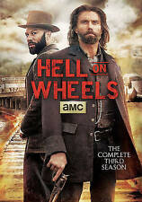 Hell on Wheels:The Complete Third Season (DVD,2014,3-Disc Set)NEW- FREE SHIPPING