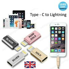 USB-C 3.1 Type C to iPhone 8pin Lightning Adapter Cable Converter Charger