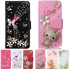 2019 New Bling Diamond Glitter Leather Card Wallet Case Stand Flip Cover For LG