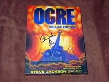 Steve Jackson Games - OGRE (Autographed) Deluxe Edition - Battle With Robots