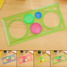 Gifts Ruler Tool Stencil Spiral Art Classic Toy Stationery 1Pcs Drafting Drawing