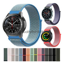 Nylon Sport Loop Watch Band Strap For Samsung Gear S3 / Sport / S2 / Galaxy