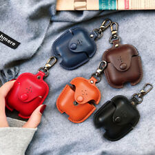 Airpods Genuine Leather Holder Bag Case Cover Shockproof Skin for Apple Airpods