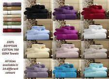 HOTEL QUALITY MIAMI TOWELS 100% EGYPTIAN COTTON TOWELS 4 SIZES EXTRA ABSORBENT