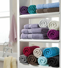LUXURY QUALITY MIAMI TOWELS 100% EGYPTIAN COTTON TOWELS 4 SIZES EXTRA ABSORBENT