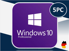 MS Windows 10 Professional, Win 10 Pro, 32&64 Bits, OEM, Produktkey per email
