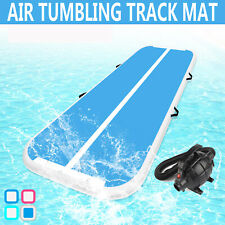 20cm Dick Aufblasbar Air Track Tumbling Home Gymnastikmatte Floor Mat +Pumpe