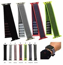 NEW! Nylon Sport Loop iWatch Replacement Band Strap for Apple Watch Series 1-4