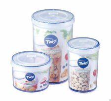 BPA FREE - Lock and & Lock® Twist Plastic Food Storage Containers Lunch Cereal