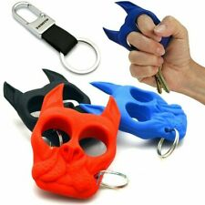 Dog Head Self-Defense Mini Keychain Portable Pendant Outdoor Travel Womens Safe