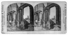Photo of Stereograph,Ruins,Great Fire,Chicago,Illinois,Western News Company,1871