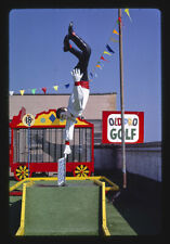 Photo:Old Pro Golf,circus course. Acrobat,Rehoboth Beach,Delaware