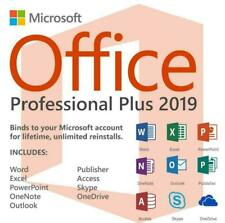 Microsoft Office 2019 Professional Plus For Windows 32/64 Bit with activator