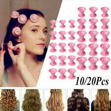 10/20pcs Magic Silicone Hair Curlers Rollers No Clip Formers Styling DIY Tool