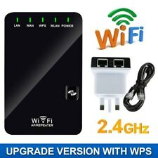 2.4G WiFi Signal Booster Wireless Network Extender Router Repeater US UK EU