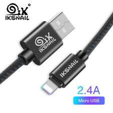 3.1FT Braided Lightning USB Charger Cable For Apple iPhone 6 7 8 Plus X XS Max