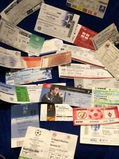 CHOOSE FROM (24)  EURO FOOTBALL TICKETS FROM TOP LEAGUES INC CHAMPIONS LEAGUE